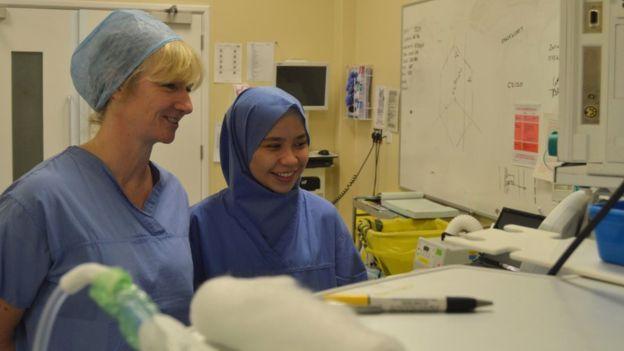 sterile hijab