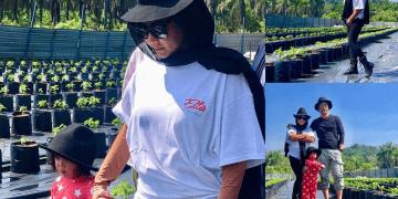 This M'sian Rock Queen Ella, Invested RM150,000 in Chilli Farm