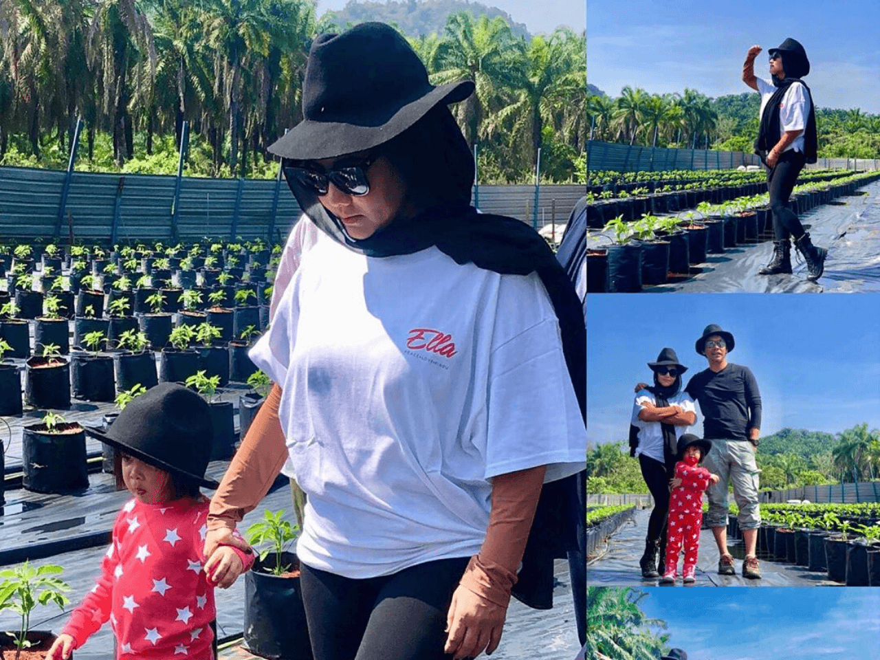 This M'sian Rock Queen Ella, Invested RM150,000 in Chilli Farm