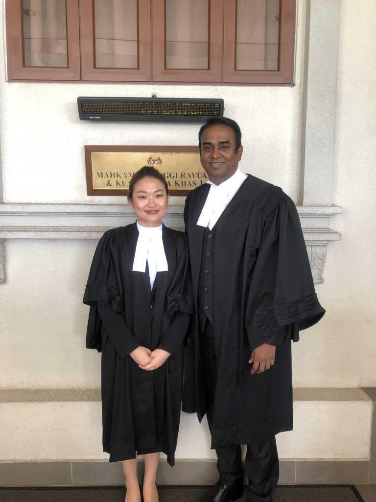 Jazzmine Khoo, Protégé of Dato' Arunan, The Rising Star in Matrimonial & Family Law